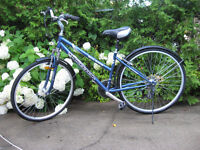 Ladies Cruiser Bike - 18 Speed Front Suspension - Velo - Bicycle