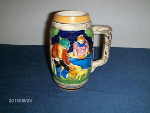 VINTAGE GERMAN STYLE BEER STEIN-COLLECTIBLE-1960/70'S