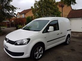 Vw caddy 1.6 diesel in white 2011 must be seen ! £5995 plus VAT look at this for a van !