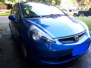 2007 Honda fit sport Manual