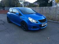 2008-08 VAUXHALL CORSA 1.6VXR TURBO 16V ARDEN BLUE METALLIC