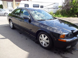 2002 Ford Autre lincoln ls 6 cylindre 163000 km Berline