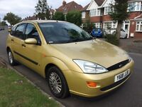 FORD FOCUS 12 MONTHS MOT STARTS AND DRIVES PERFECT