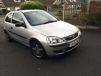 Vauxhall Corsa Life 1 litre 54000 miles 55 plate
