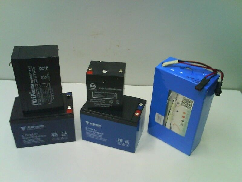 Battery for ebike & Escooter ( Lead Acid & Lithium Types )