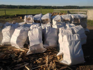 XL bags of firewood