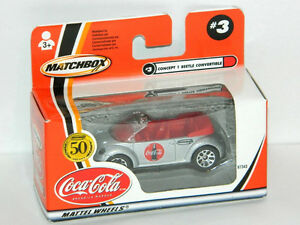 Matchbox 1/64 Concept 1 New Beetle Coca-Cola Coke Diecast Car