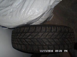 Set of 4 Goodyear Ultra Grip Winter Tires with Rims