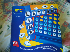 Chad Valley Link Letters game