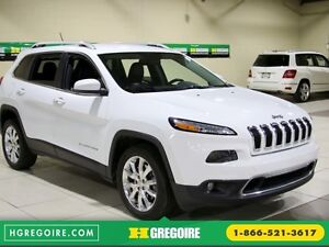 2014 Jeep Cherokee Limited AUTO A/C CUIR MAGS CAMERA RECUL