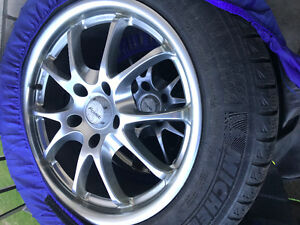 Winter Tire and Rim set for GM Vehicles 235-55-R17 with Alloys