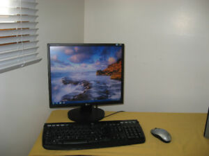 Monitor,Key board and Mouse