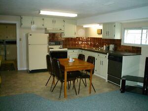 Large furnished 1bdrm plus den Kelowna hospital area