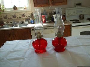 Nice Vintage oil lamps