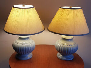 Beautiful Table Lamps.Firm $40.