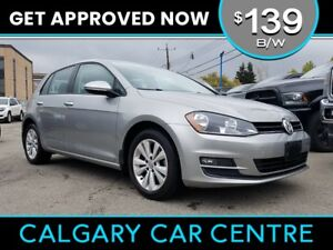 2015 VW Golf $139B/W TEXT US FOR EASY FINANCING! 587-582-2859