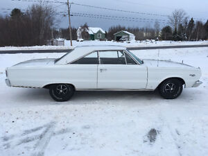 1966 PLYMOUTH SATELLITE 383 AUTO + 1968 DODGE SUPERBEE 440 AUTO