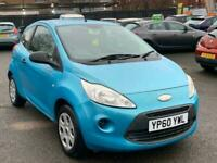 2010 FORD KA 1.2 STUDIO //43000 MILES// FULL SERVICE HISTORY // LONG MOT /
