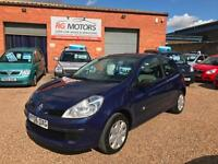 2006 Renault Clio 1.4 16v 98 Expression Blue 3dr Hatchback, **ANY PX WELCOME**