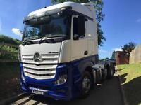 MERCEDES ACTROS 2545 6X4 STREAM MEGA SPACE TRACTOR UNIT 63 REG
