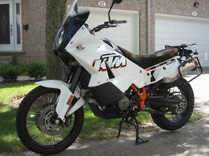 KTM 990 Adventure, White - 2012