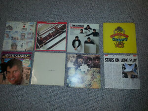 Beatles LP`s , Dick Clark and others