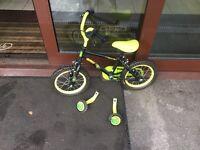 Kids push bike,used three times,grab a early Xmas bargain now