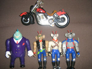BIKER MICE FROM MARS FIGURE LOT