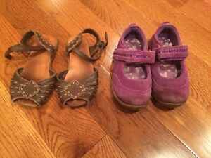 Girl sandals and shoes. Kids size 8