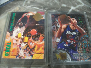 two basketball cards for sale Shaquil o Neil and Damon Stoudmire