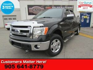 2014 Ford F-150 XLT  CREW, ALLOYS, 4X4, POWER GROUP, TONNEAU