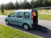 2012 12 Renault Kangoo 1.6. Automatic Auto WHEELCHAIR ACCESSIBLE DISABLED WAV