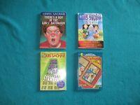 4 Louis Sachar Books