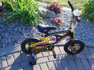 Bicycle 12 in  Boys Tonka in perfect condition