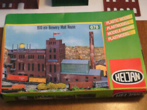 HO scale manufacturing plant Brewery for electric model trains