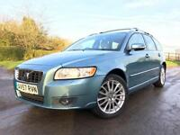 Volvo V50 2.0D SE Lux Diesel Blue Manual Estate