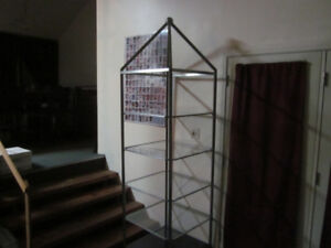LARGE COLLECTIBLES DISPLAY SHELVING UNIT