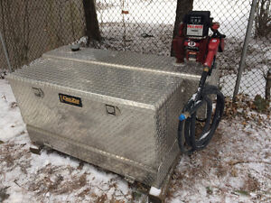 80 Gallon DEE ZEE Fuel and Tool Box Combo