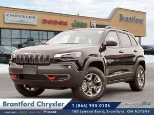 2019 Jeep Cherokee Trailhawk Elite  - Navigation - $267.35 B/W