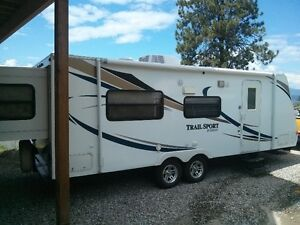2011 Trail Sport 23RS Travel Trailer with rear slide