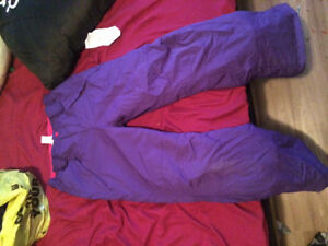 Size 14 girls snow pants