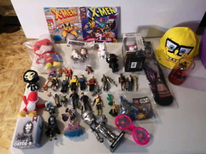 Xmas Toy  Lot Aliens Star Trek Lego and More!