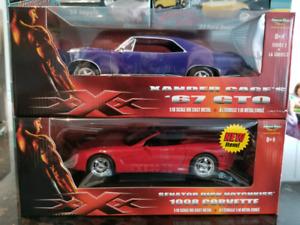 1:18 Diecast ERTL XXX Vin Diesel American Muscle Car Collection