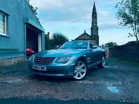 CHRYSLER CROSS FIRE CONVERTIBLE LOW MILEAGE!