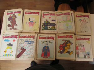 +-400 comic books gazette charlie brown garfield hulk