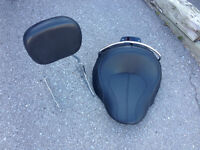 2011 Harley Softail Deluxe Saddle seat and backrest