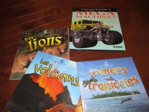 French books/Livres français
