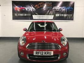 MINI HATCH COOPER D Red Manual Diesel, 2012