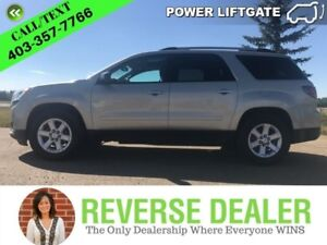 2014 GMC Acadia SLE-2  Back-up Cam, Power rear hatch, Sunroofs