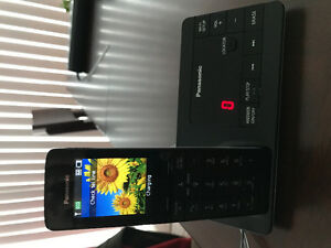 Home phone Panasonic answering machine, wifi, forward to mobile